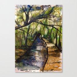 Paradise Remembered Canvas Print