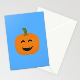 Funny Halloween pumpkin Stationery Cards