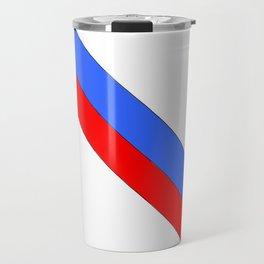 Flag of Haiti 2 -haitan,haitien,port aux princes,cap haitien,carrefour,antilles. Travel Mug