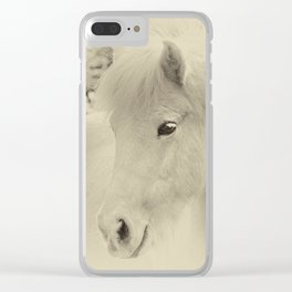 Dreaming Horse Clear iPhone Case
