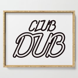 Chicago Bear Club Dub Serving Tray
