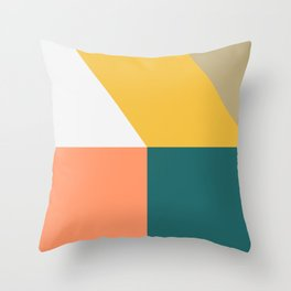 Abstract Geometric 18 Throw Pillow
