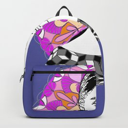 Selina in sky with diamonds Backpack