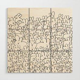 Pile of Buns Part Deux Wood Wall Art