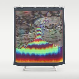 His Mind is Dark and Full of Errors 156 Shower Curtain