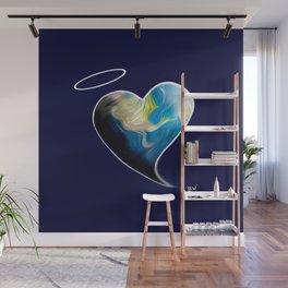 Earth Angel Heart Wall Mural