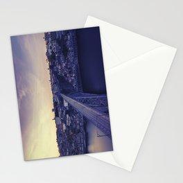Porto across the bridge. Stationery Cards