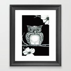 Fictional Owl Framed Art Print
