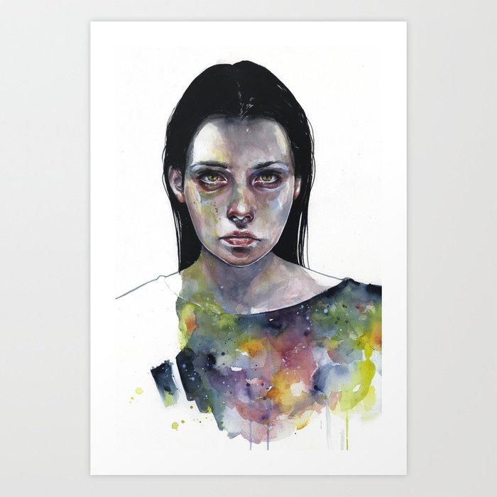 Discover the motif MOONLIGHT by Agnes Cecile as a print at TOPPOSTER