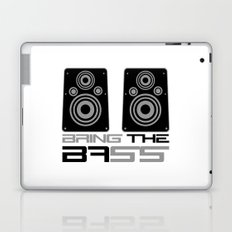 Bring The Bass Music Quote Laptop & iPad Skin