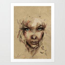 [Crystal] Art Print