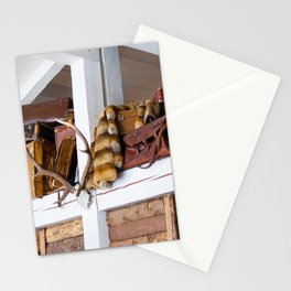 Mountain chalet Stationery Cards