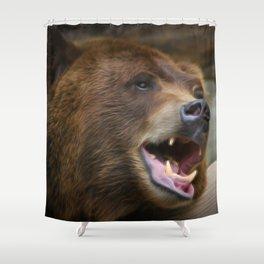 Griz Shower Curtain