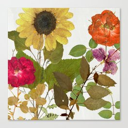 Fleuriste I Canvas Print