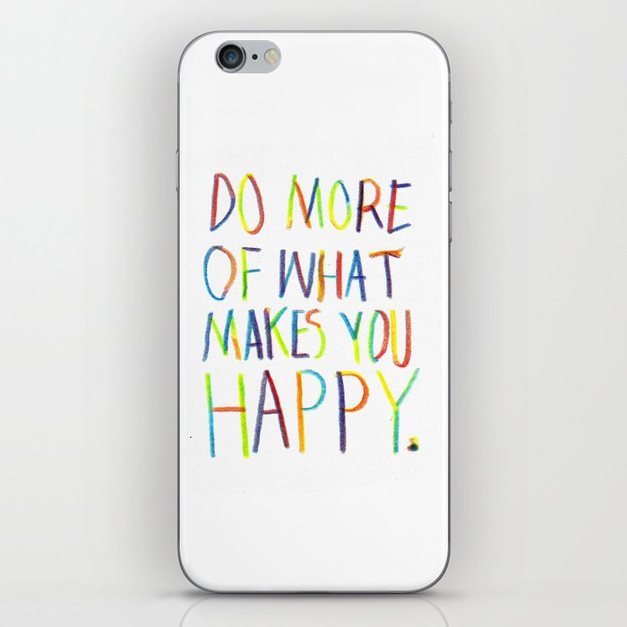 Positive Quote iPhone Skin
