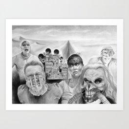 Fury Road Art Print
