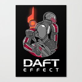 Daft Effect Canvas Print
