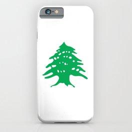 Lebanon Cedar Tree iPhone Case