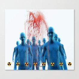 Aliens Gang & Strange Cosmic Blood Canvas Print