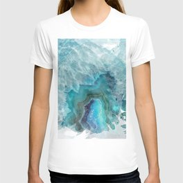 Blue Aqua Agate T-shirt
