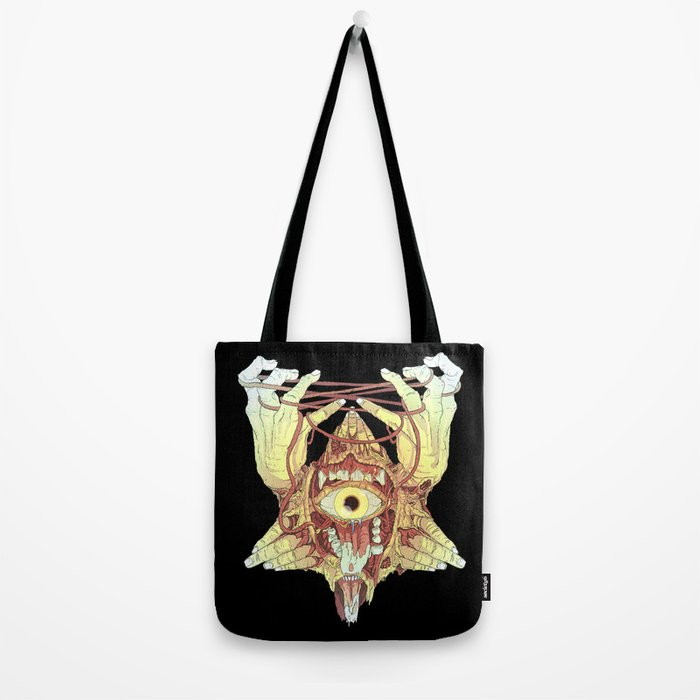 gold eye Tote Bag