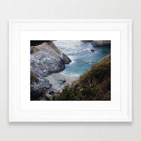 big sur Framed Art Prints featuring Big Sur by danotis