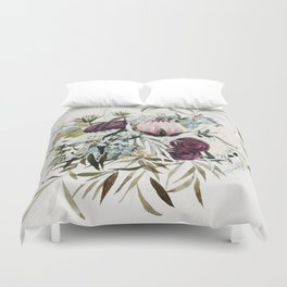 Rustic and Free Bouquet Duvet Cover