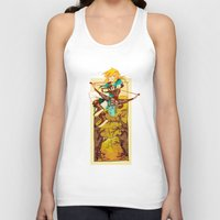 the legend of zelda Tank Tops featuring Legend of Zelda by bozrat