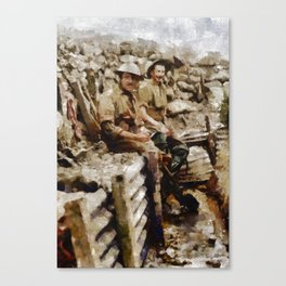 Ghosts of World War One Canvas Print