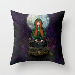 Cerridwen Throw Pillow