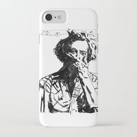 bon iver iPhone & iPod Cases featuring Bon Iver by Sara Pålsson