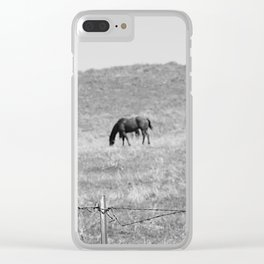 Flowing Mane Vogue Clear iPhone Case