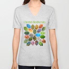 Cherish Biodiversity Unisex V-Neck