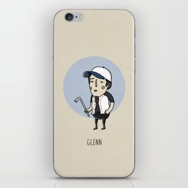 Glenn iPhone Skin