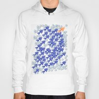 the 100 Hoodies featuring 100 fishes by Michelle Behar