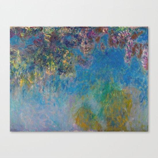 Wisteria by Claude Monet Canvas Print