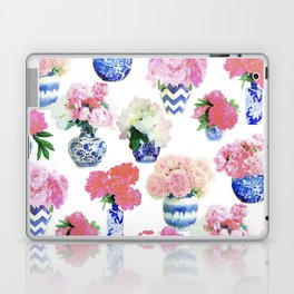Ginger Jar Peonies Laptop & iPad Skin