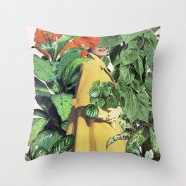 GREENHOUSE Throw Pillow