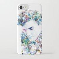 elvis presley iPhone & iPod Cases featuring Elvis Presley by NKlein Design
