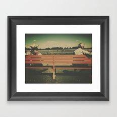 spectators Framed Art Print