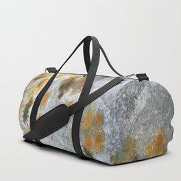 Mixed Rust Duffle Bag