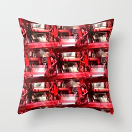 Working.... Throw Pillow