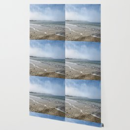 Fog rolling in on Niles Beach 5-9-18 Wallpaper