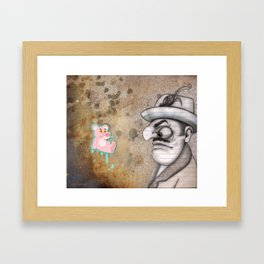 PP Code Framed Art Print