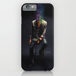 Judging my choices iPhone Case