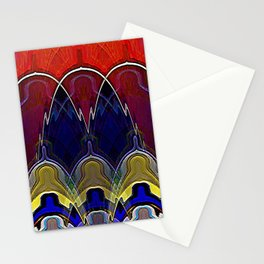 The King and his Followers Stationery Cards