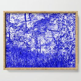 The Blue Forest Serving Tray