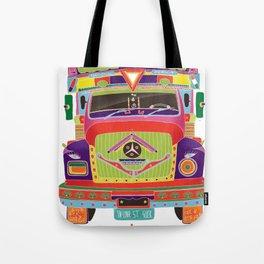 Indian Truck Art Tote Bag