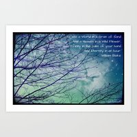 poem Art Prints featuring Favorite Poem... by Julia Kovtunyak