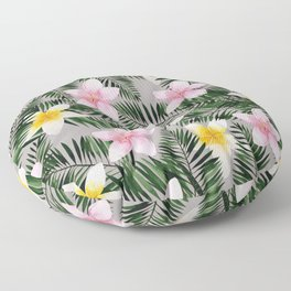 Leave Me Aloha in Grey Floor Pillow